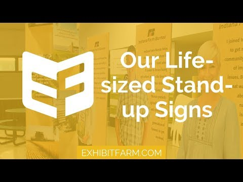 Farm Bureau Faces: Our Life-sized Stand-up Signs