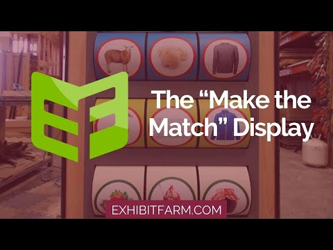 From Farm to Store: The Make the Match Display