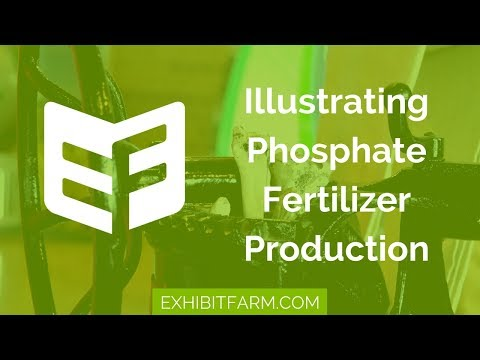 From Bones to the Farm: Illustrating Phosphate Fertilizer Production