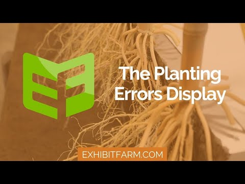 Our Sweet Sixteen (Plants): The Planting Errors Display