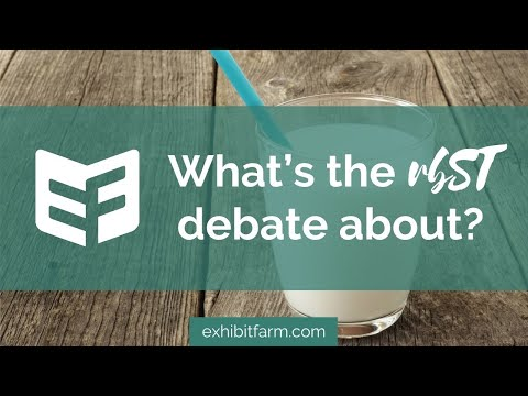 What's the rbST Debate About? (Answering Consumers' Agriculture Questions)