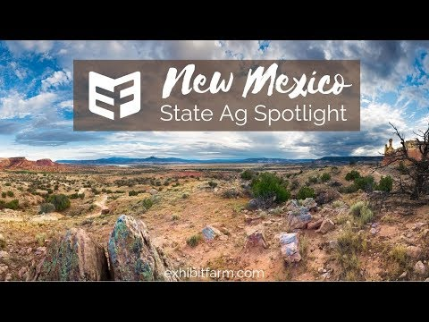 State Ag Spotlight: New Mexico Ag Facts