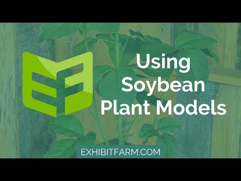 Snapshots of Crop Growth: Using Soybean Plant Models