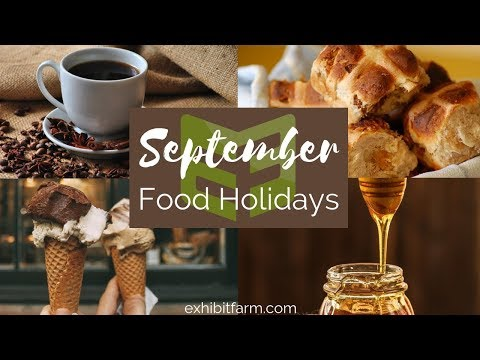 September Food Holidays: National Honey Month and More