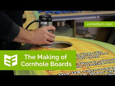 The Making of Cornhole Boards
