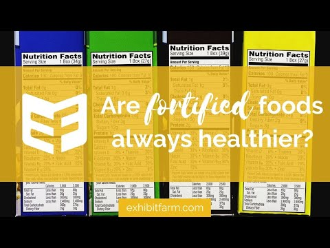 """""""Are Fortified Foods Always Healthier?"""" (Answering Consumers' Agriculture Questions)"""