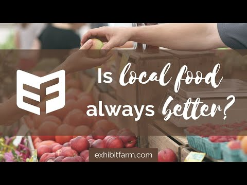 """Is Local Food Always Better?"": Answering Consumers' Agriculture Questions"