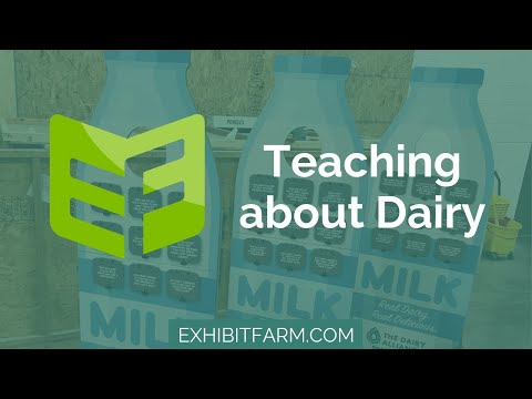 The Human-Sized Milk Bottle: Teaching about Dairy