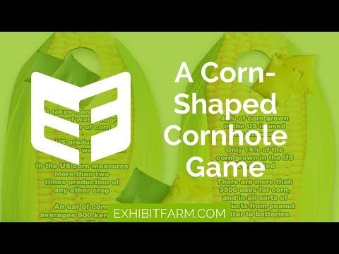 Playing with Puns: A Corn-Shaped Cornhole Game