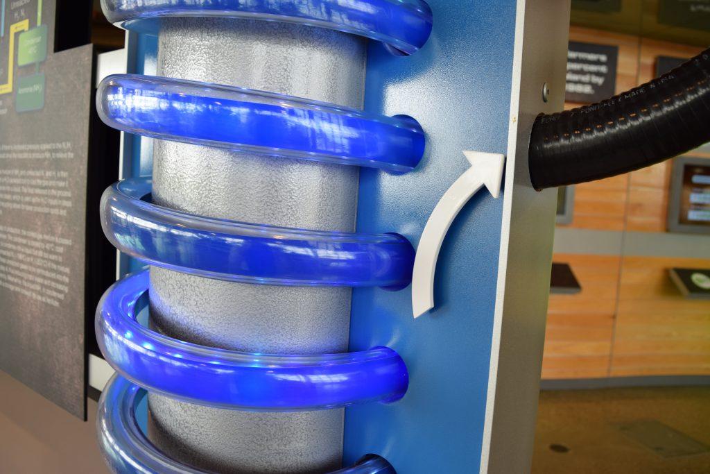 Haber Process Display Close-Up 01