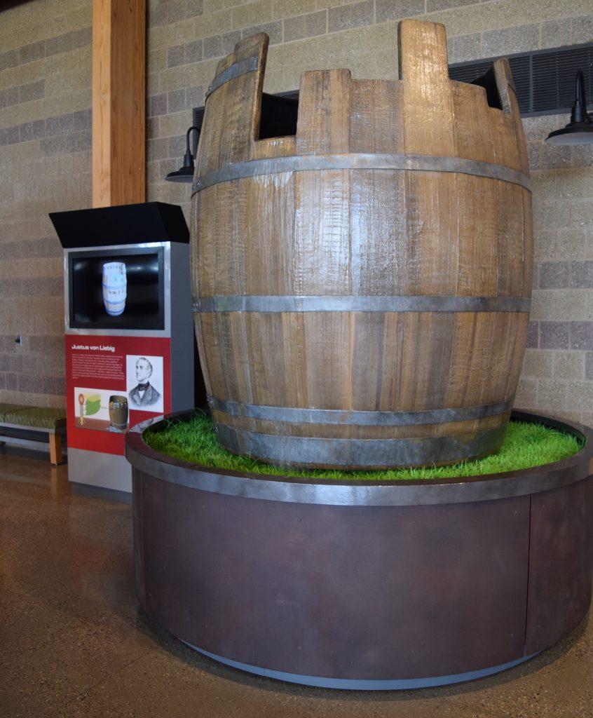 Liebig's Law Barrel Display 02