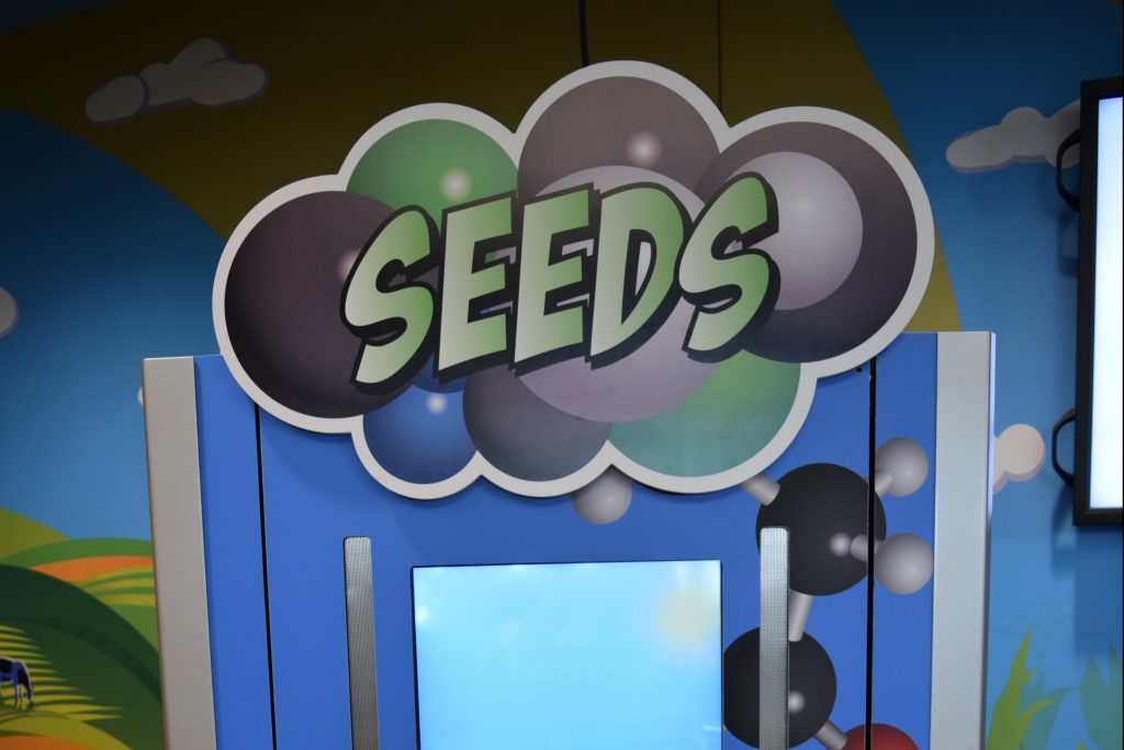 Seed Growth Sign