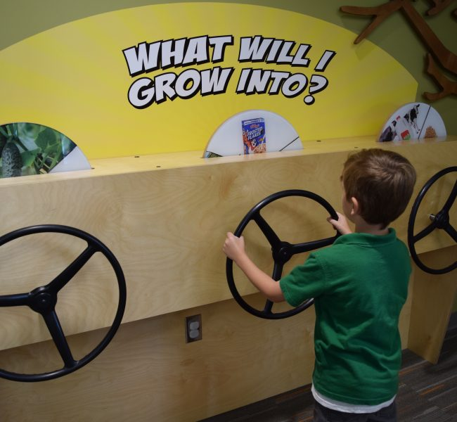 Child at Interactive Display