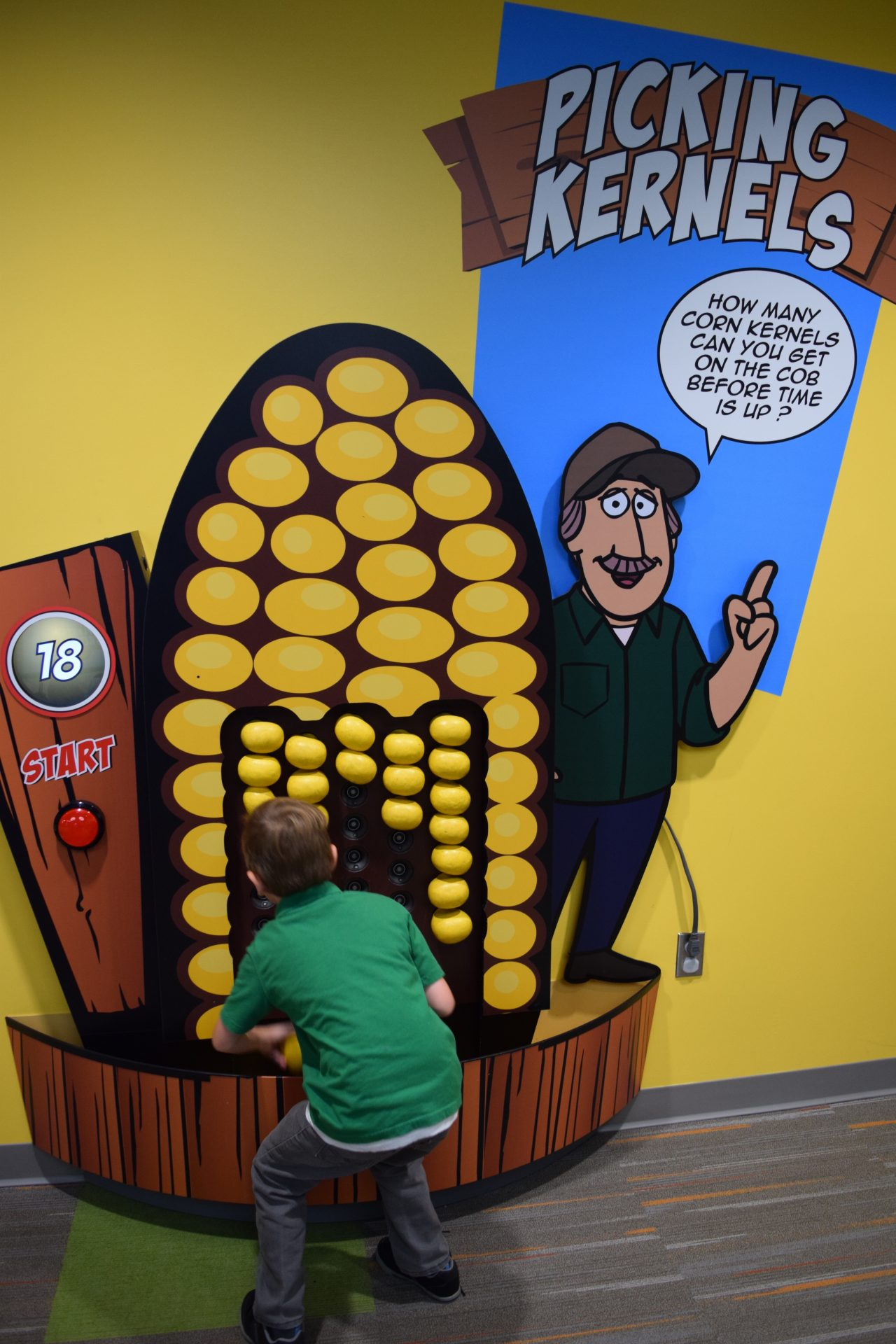 Child Playing Corn Game 02