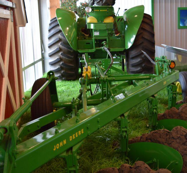 Tractor and Plow Exhibit
