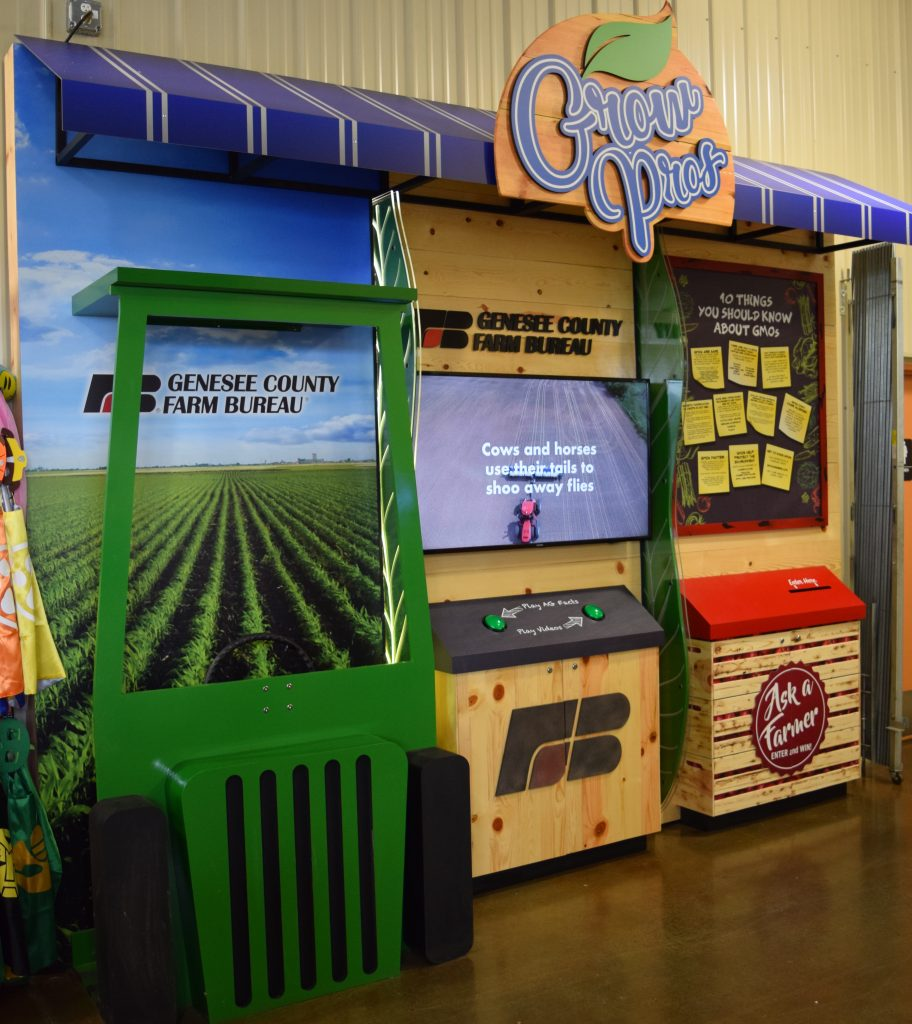 farmers market display and photo booth exhibit farm the leader in