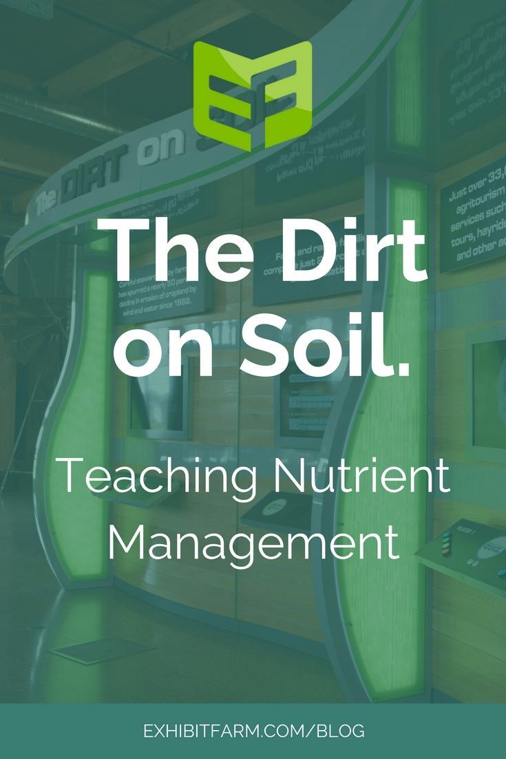 Dirt on Soil Post Promo