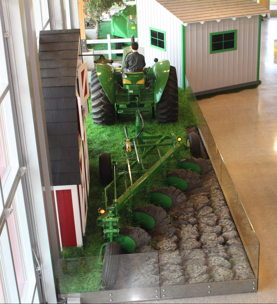 Tractor and Plow Exhibit 02