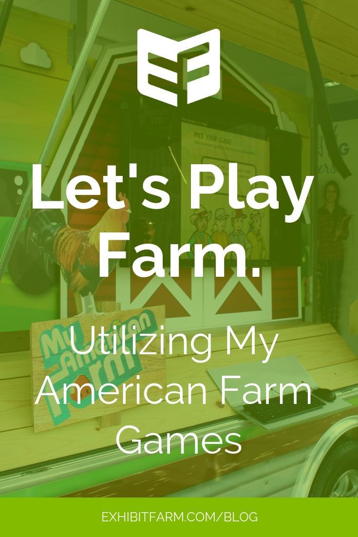 My American Farm Games Promo