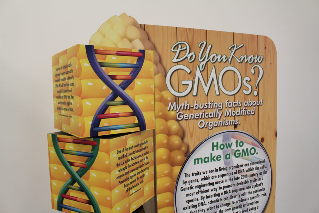 The GMOs Standup Display 01