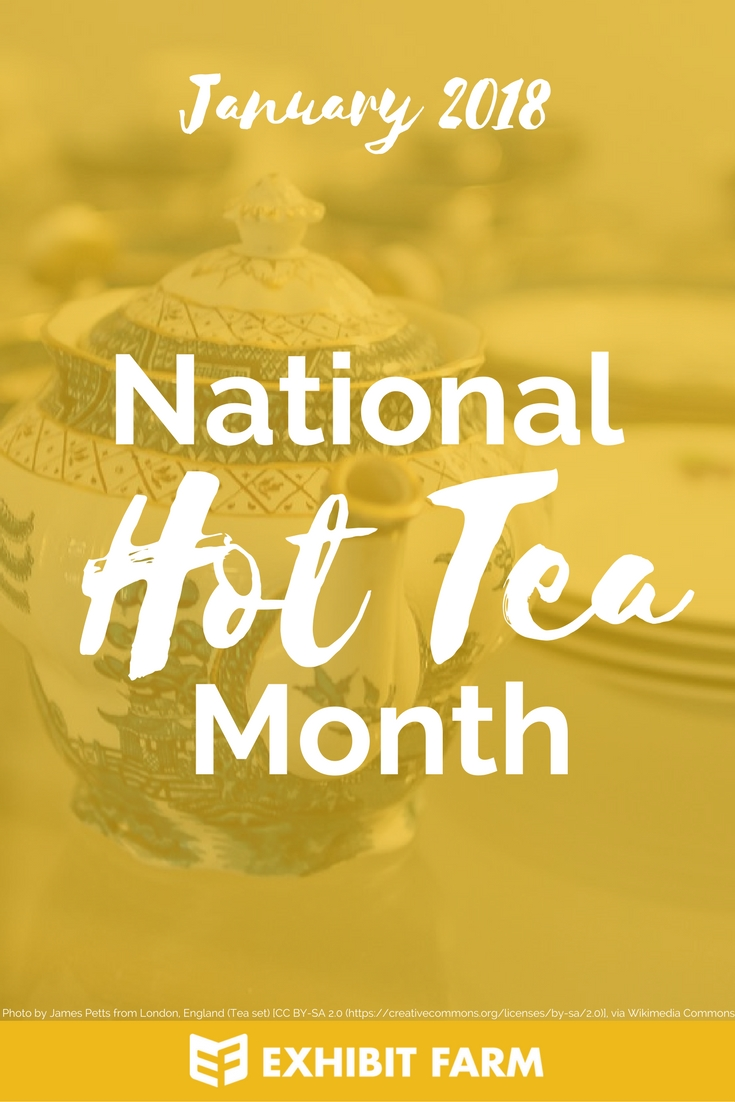 Hot Tea Month Promo