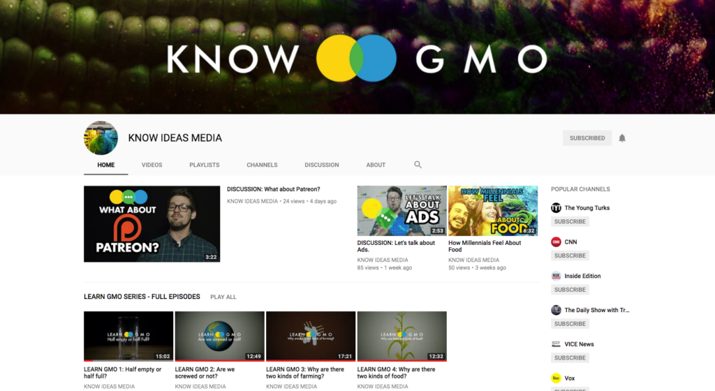 Know GMO Channel Screenshot