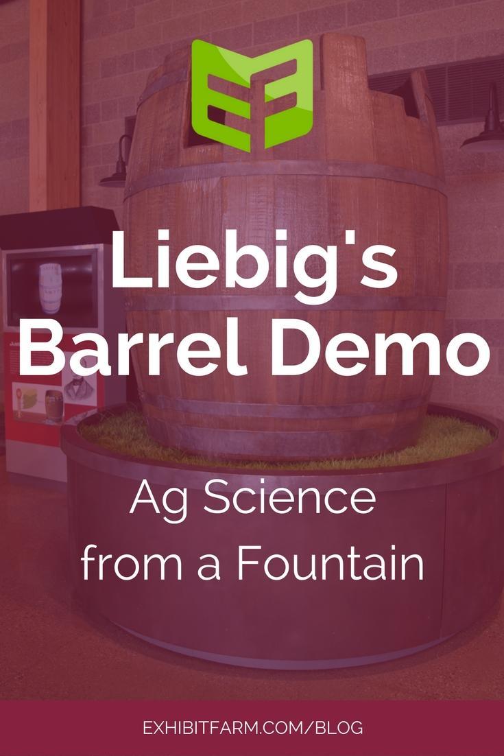 Liebig's Barrel Post Promo