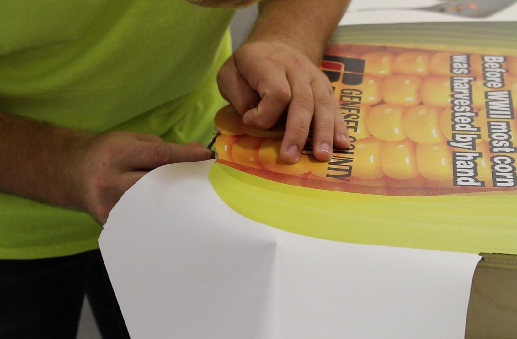 Making of Corny Cornhole