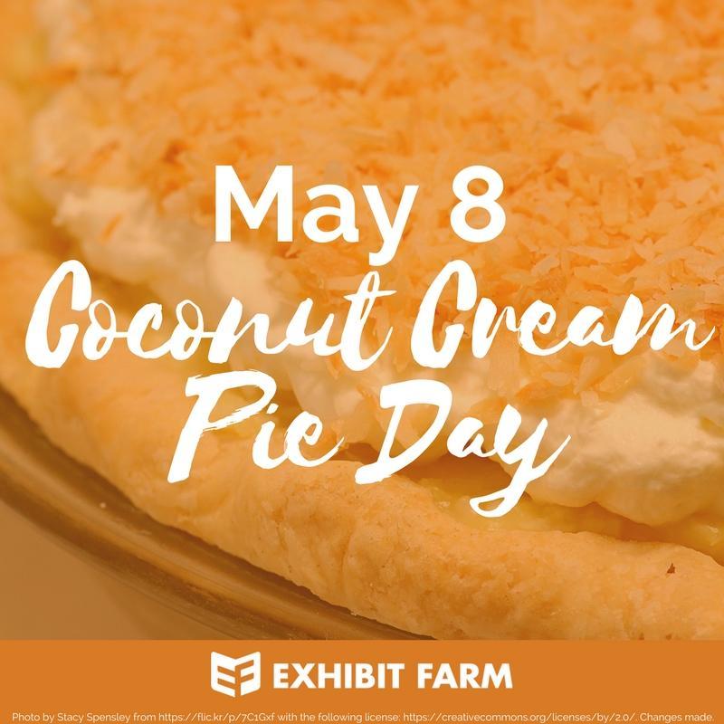 Coconut Cream Pie Day Promo