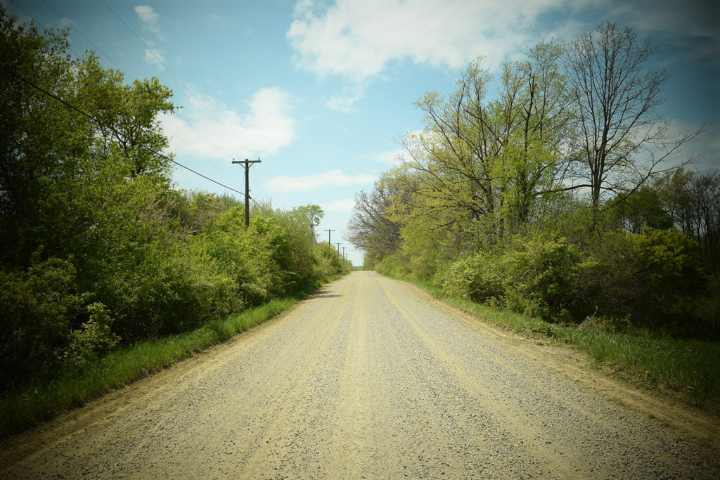 Photo of Michigan Dirt Road