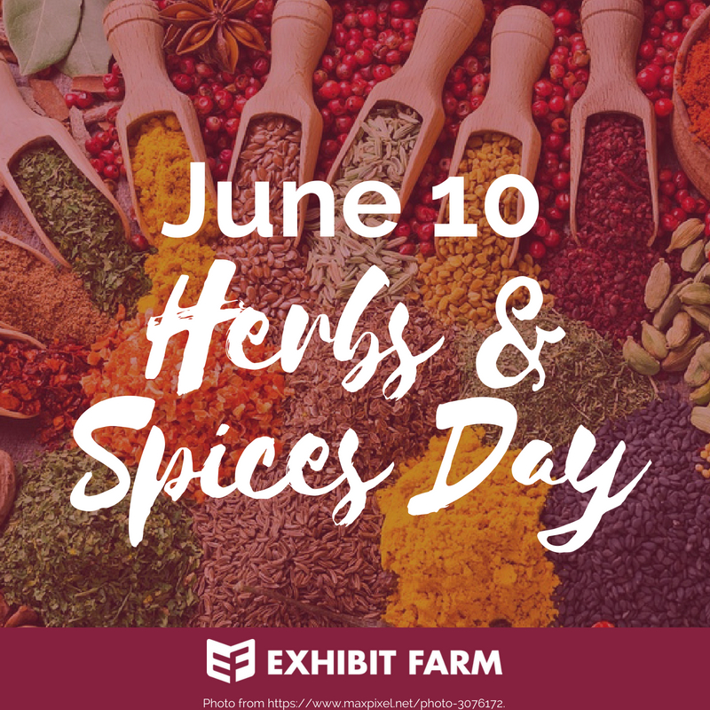 Herbs and Spices Day Promo