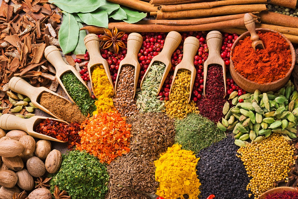 Photo of herbs and spices