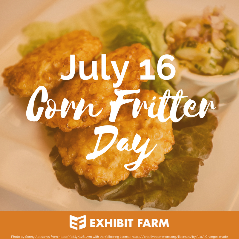 Corn Fritter Day Promo