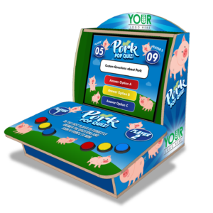 Pork Tabletop Trivia Quiz Game Product Photo