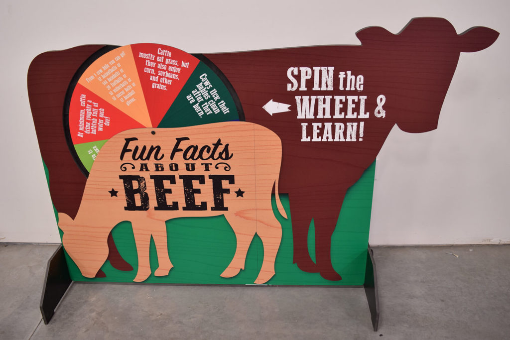 Beef Display Wheel
