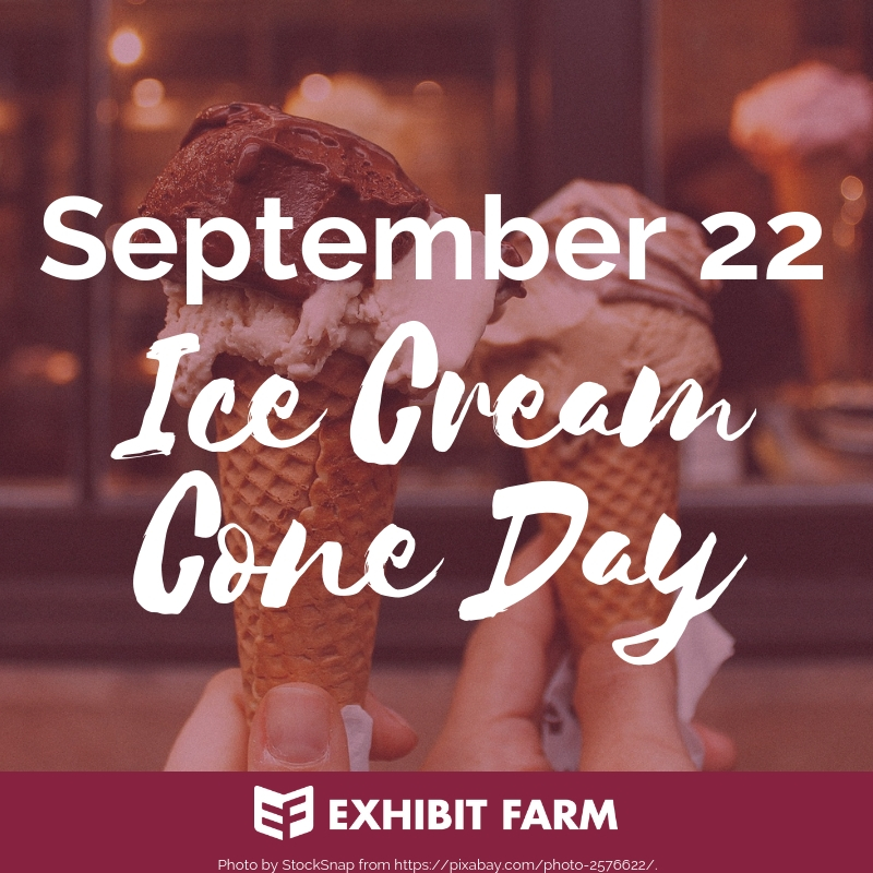 Ice Cream Cone Day Promo