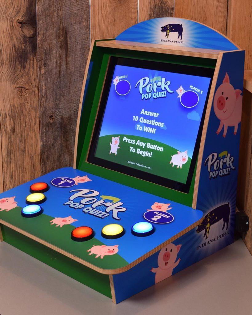 Tabletop Pork Trivia Game - Exhibit Farm: The Leader in