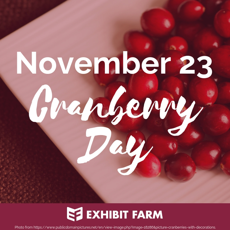 Eat A Cranberry Day Promo
