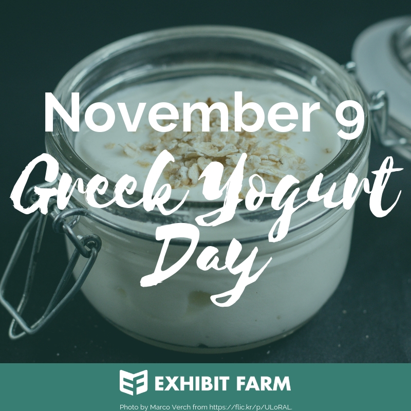 Greek Yogurt Day Promo