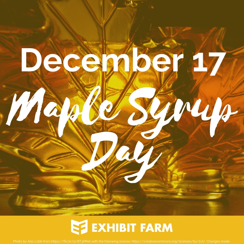 Maple Syrup Day Promo