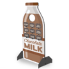 Chocolate Milk Bottle Standup