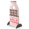 Strawberry Milk Bottle Standup