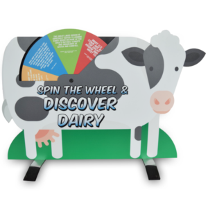 Tabletop Dairy Cow Display Main Product Photo