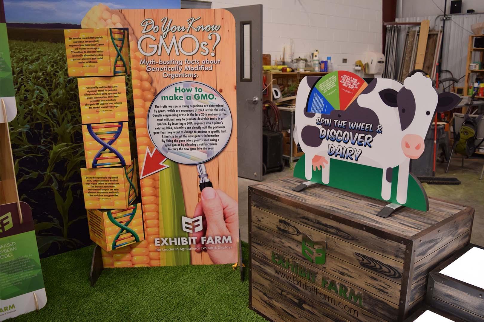 Exhibit Farm Booth Displays