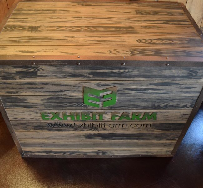 Exhibit Farm Booth Crates