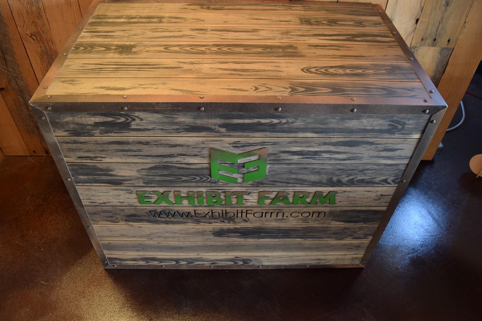 Exhibit Farm Booth Crates
