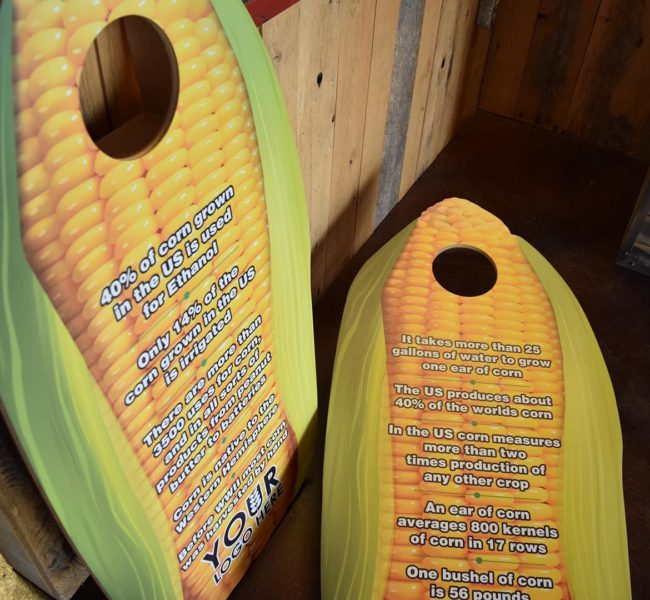 Corny Cornhole Boards