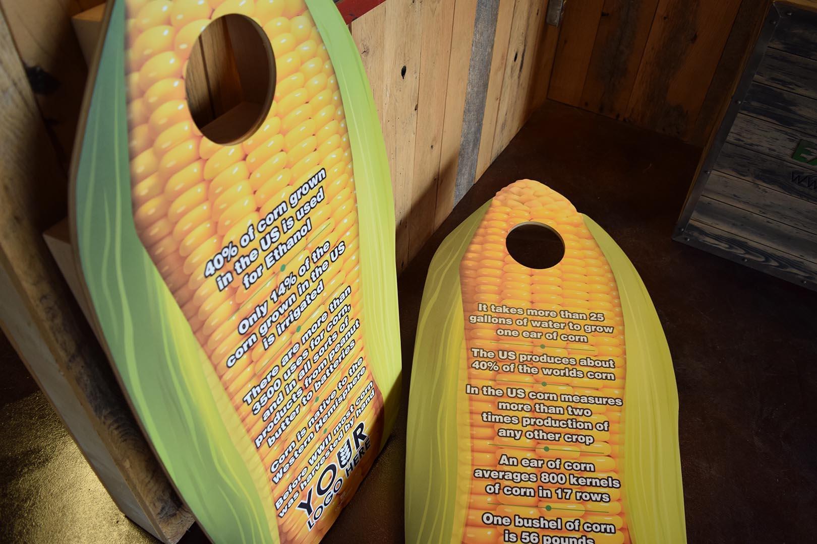 Corny Cornhole Boards