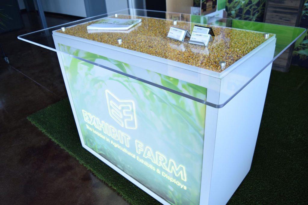 Exhibit Farm Engagement Table (trade show furniture)