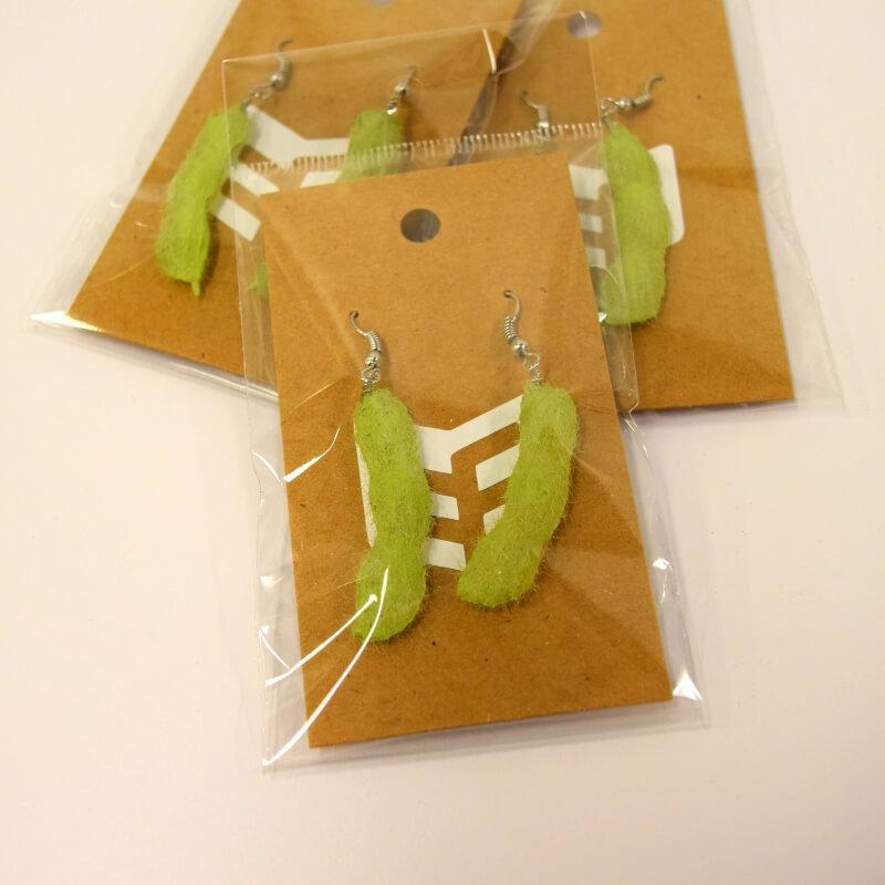 Soybean Earrings